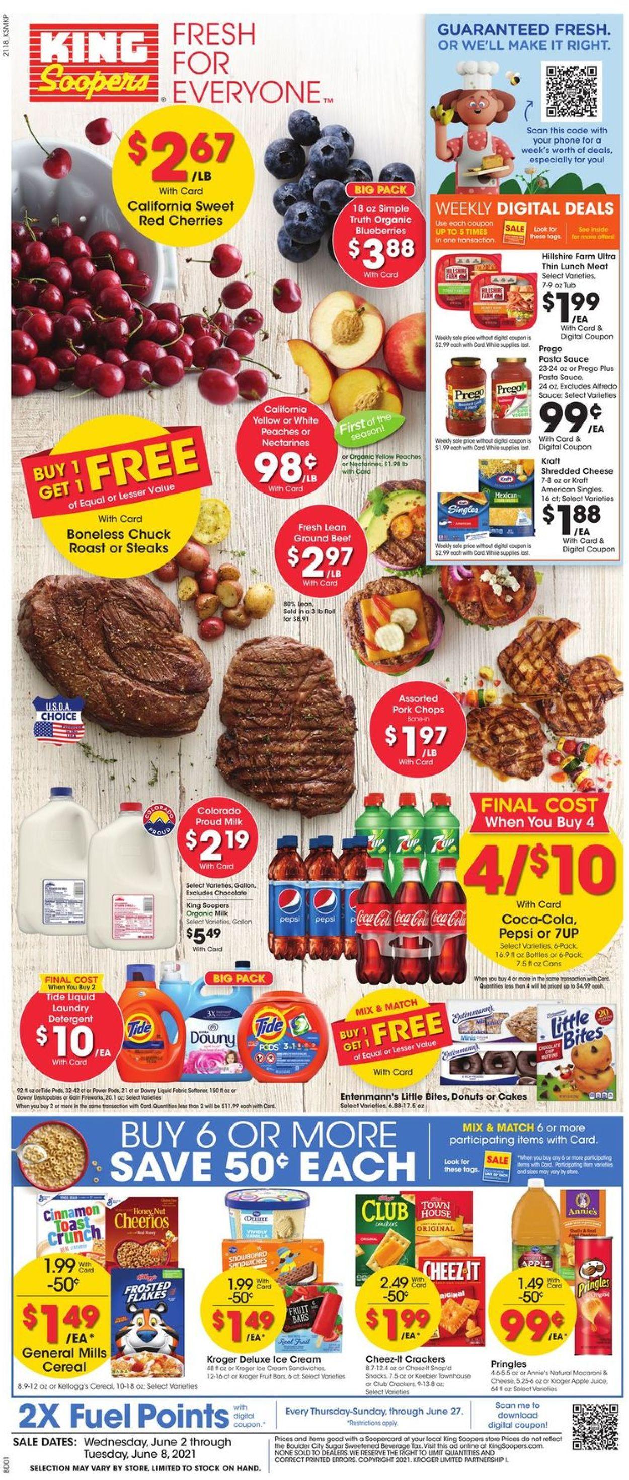 King Soopers Weekly Ad Circular - valid 06/02-06/08/2021