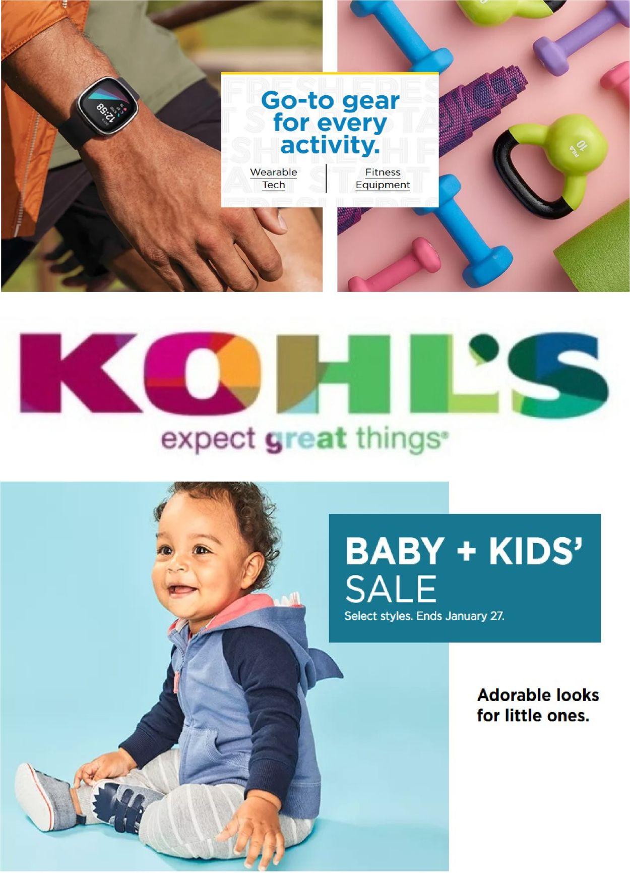 Kohl's Weekly Ad Circular - valid 01/20-01/26/2021