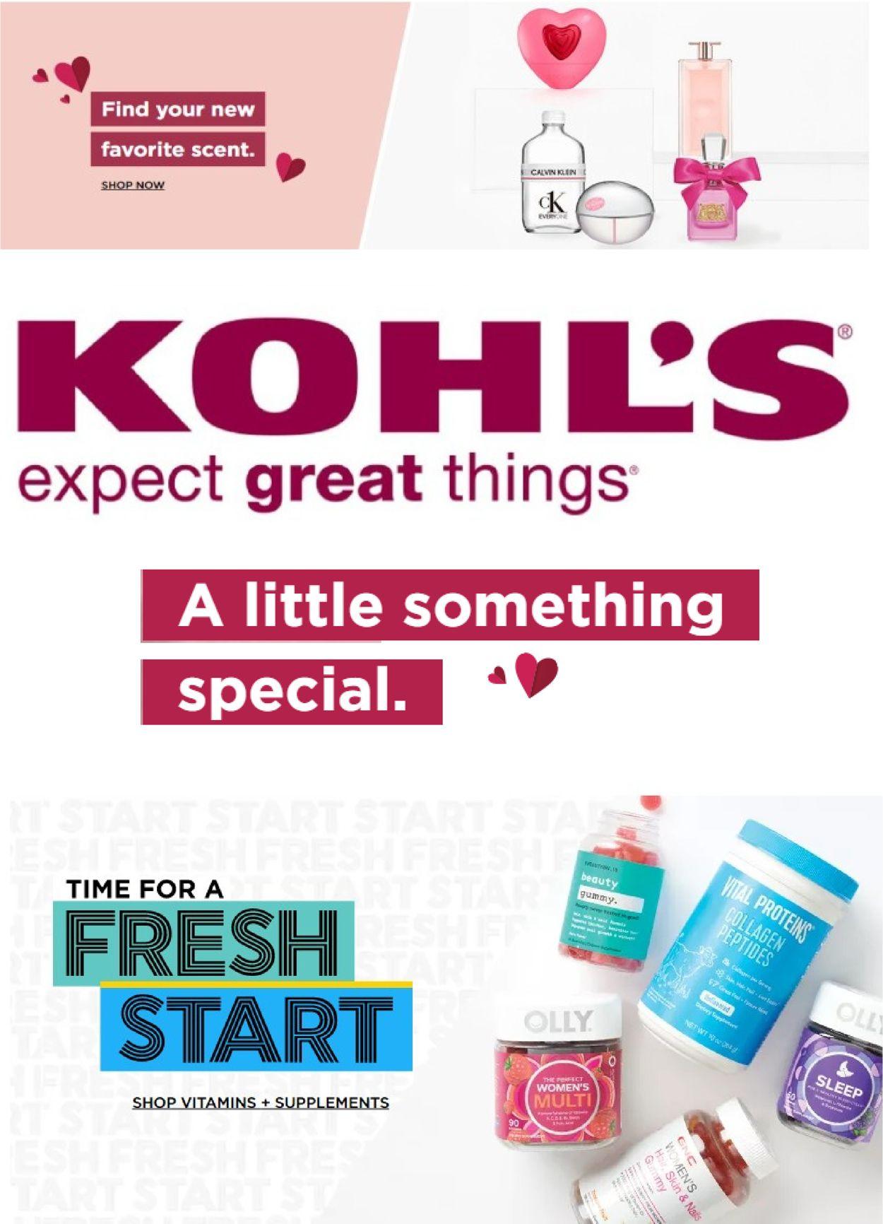 Kohl's Weekly Ad Circular - valid 02/03-02/09/2021