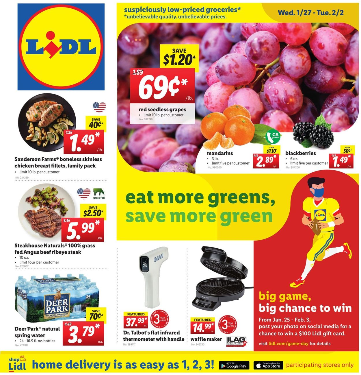 Lidl Weekly Ad Circular - valid 01/27-02/02/2021