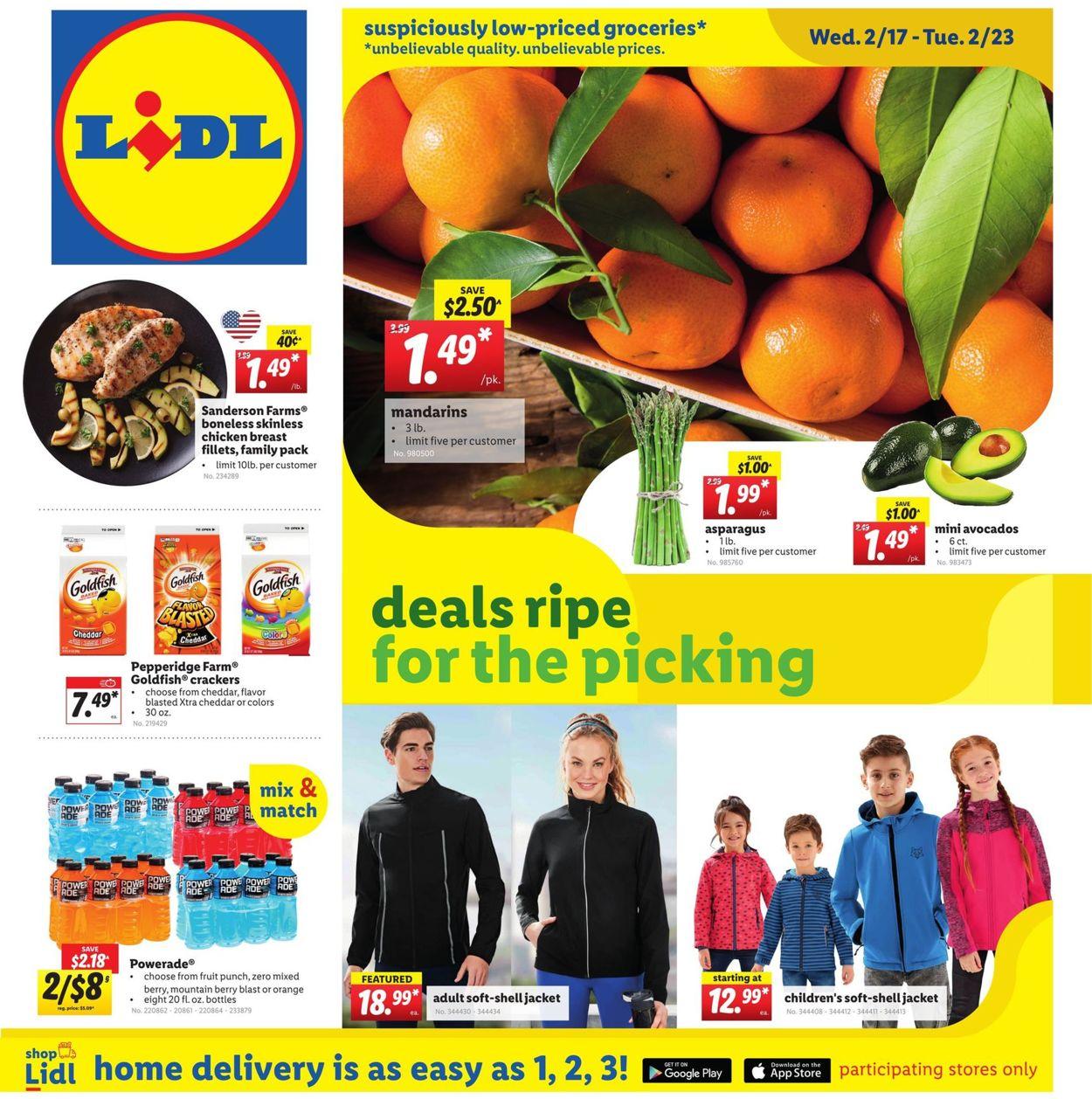 Lidl Weekly Ad Circular - valid 02/17-02/23/2021