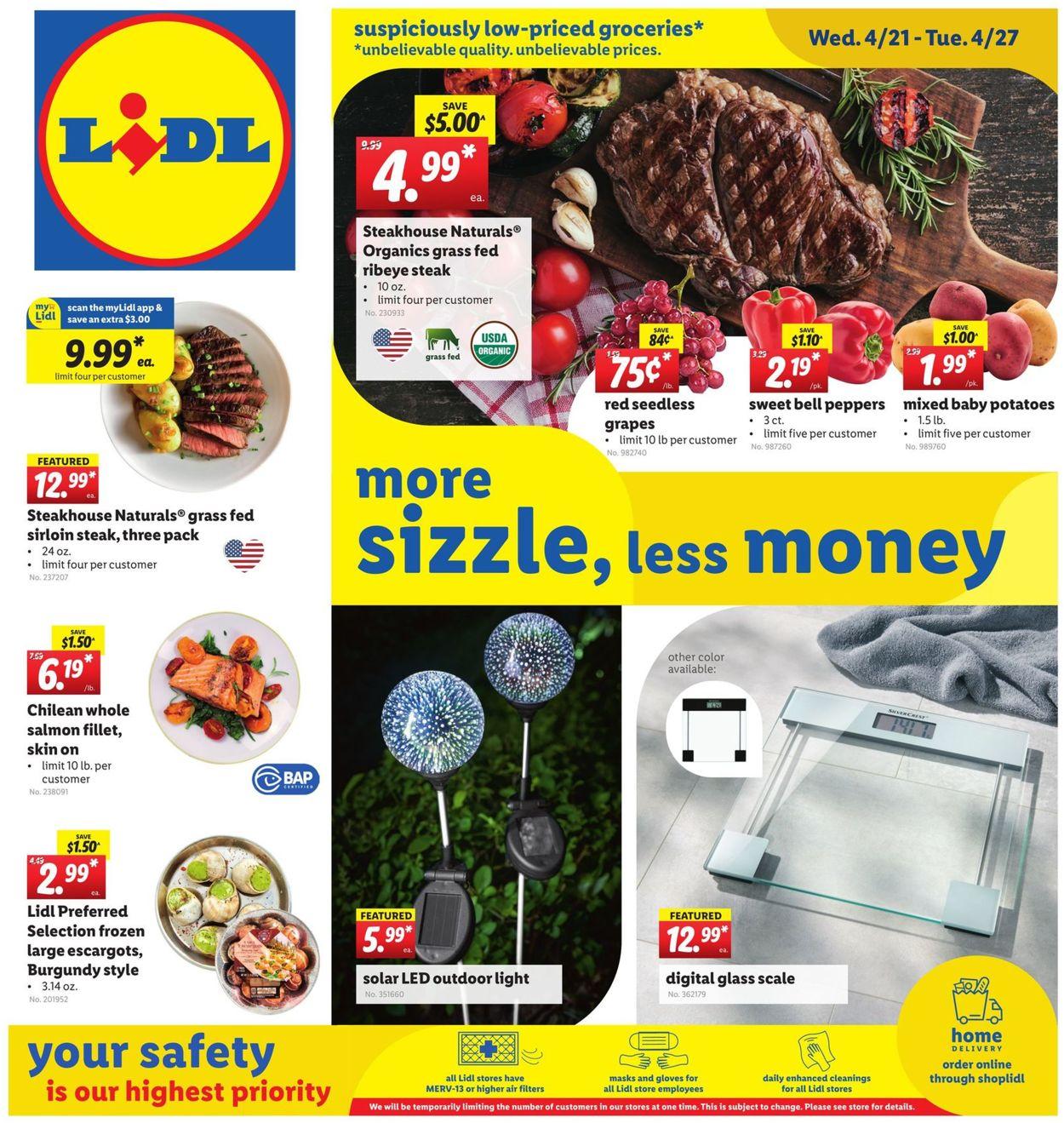 Lidl Weekly Ad Circular - valid 04/21-04/27/2021