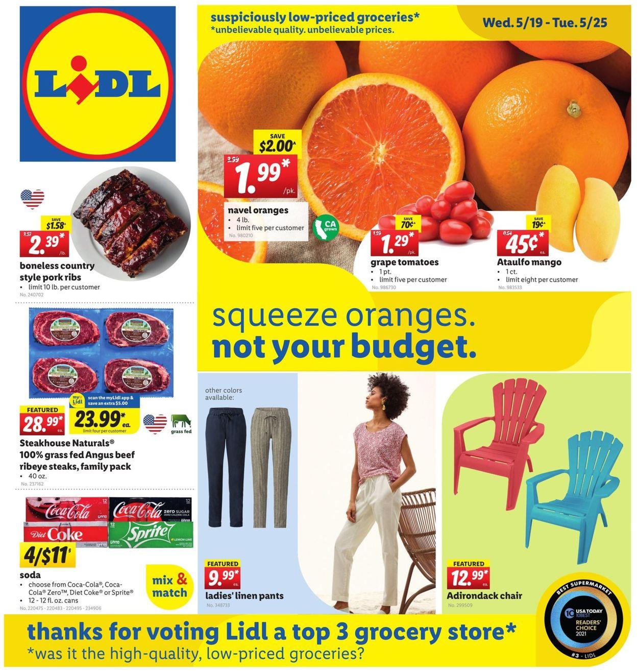 Lidl Weekly Ad Circular - valid 05/19-05/25/2021