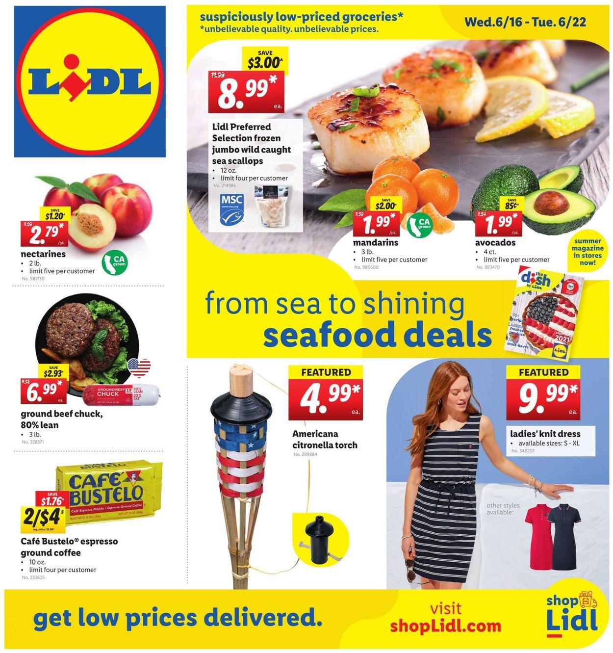 Lidl Weekly Ad Circular - valid 06/16-06/22/2021