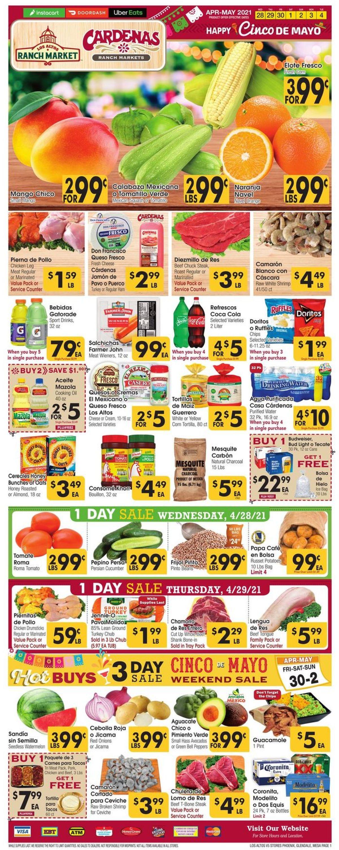 Los Altos Ranch Market Weekly Ad Circular - valid 04/28-05/04/2021