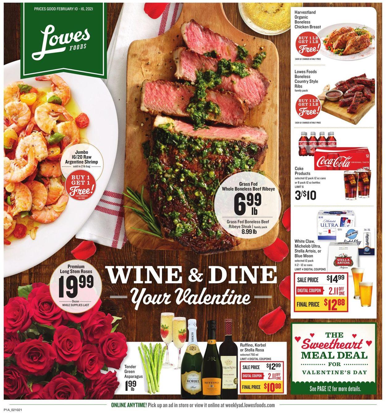 Lowes Foods Weekly Ad Circular - valid 02/10-02/16/2021