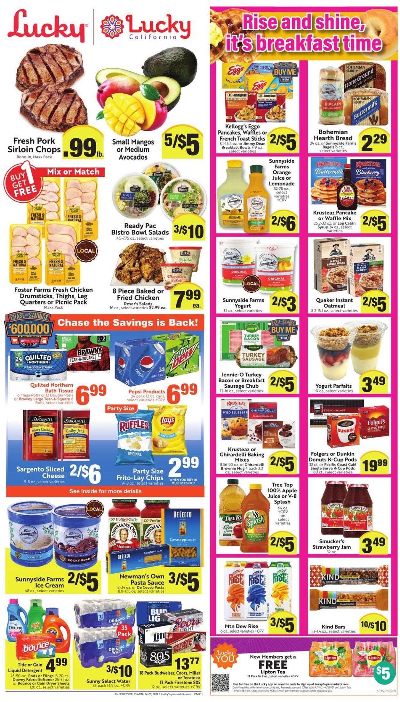 Lucky Supermarkets Weekly Ad Circular - valid 04/14-04/20/2021