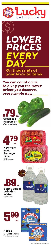 Lucky Supermarkets Weekly Ad Circular - valid 05/19-05/25/2021