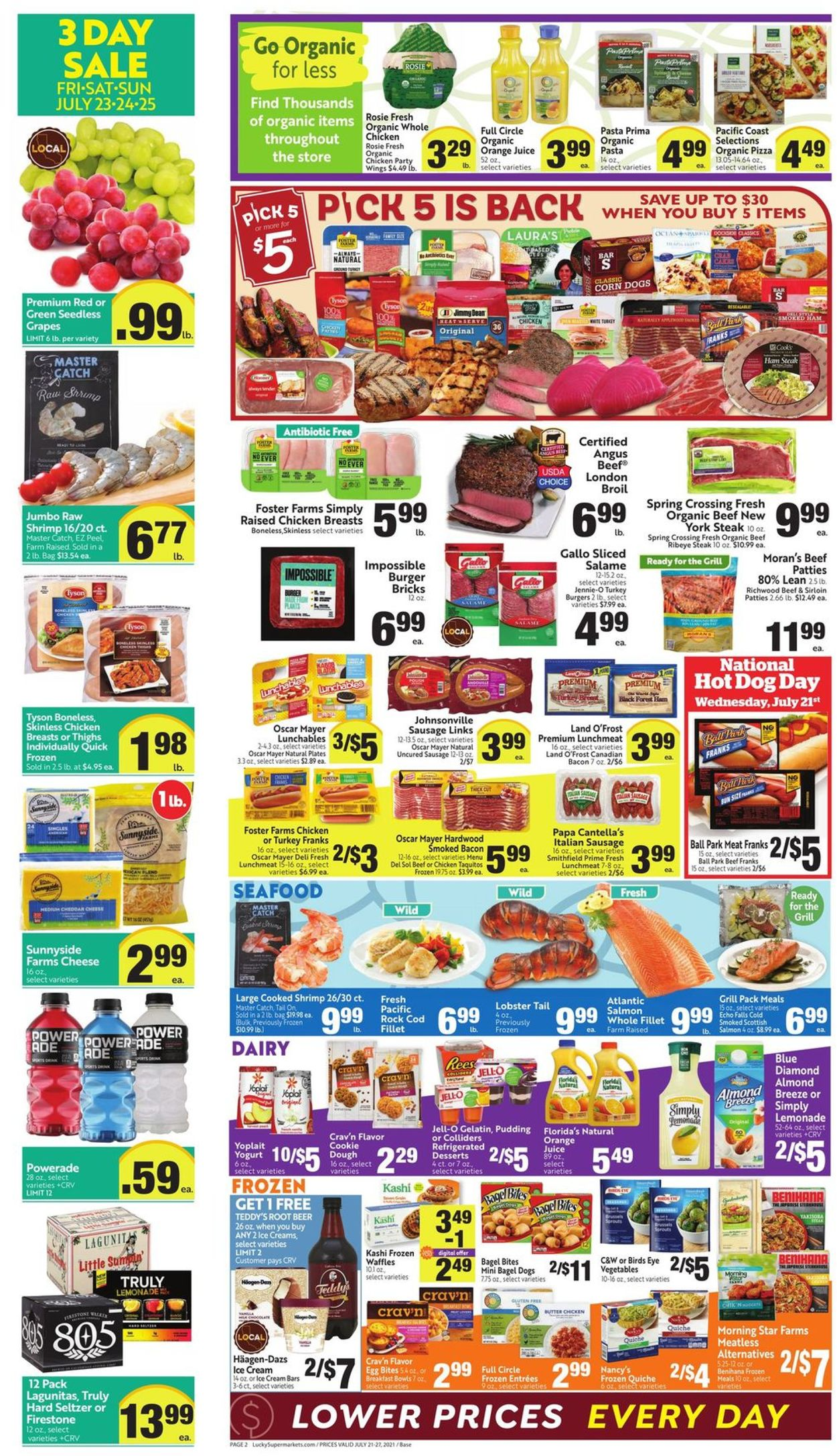 Lucky Supermarkets Weekly Ad Circular - valid 07/21-07/27/2021 (Page 2)