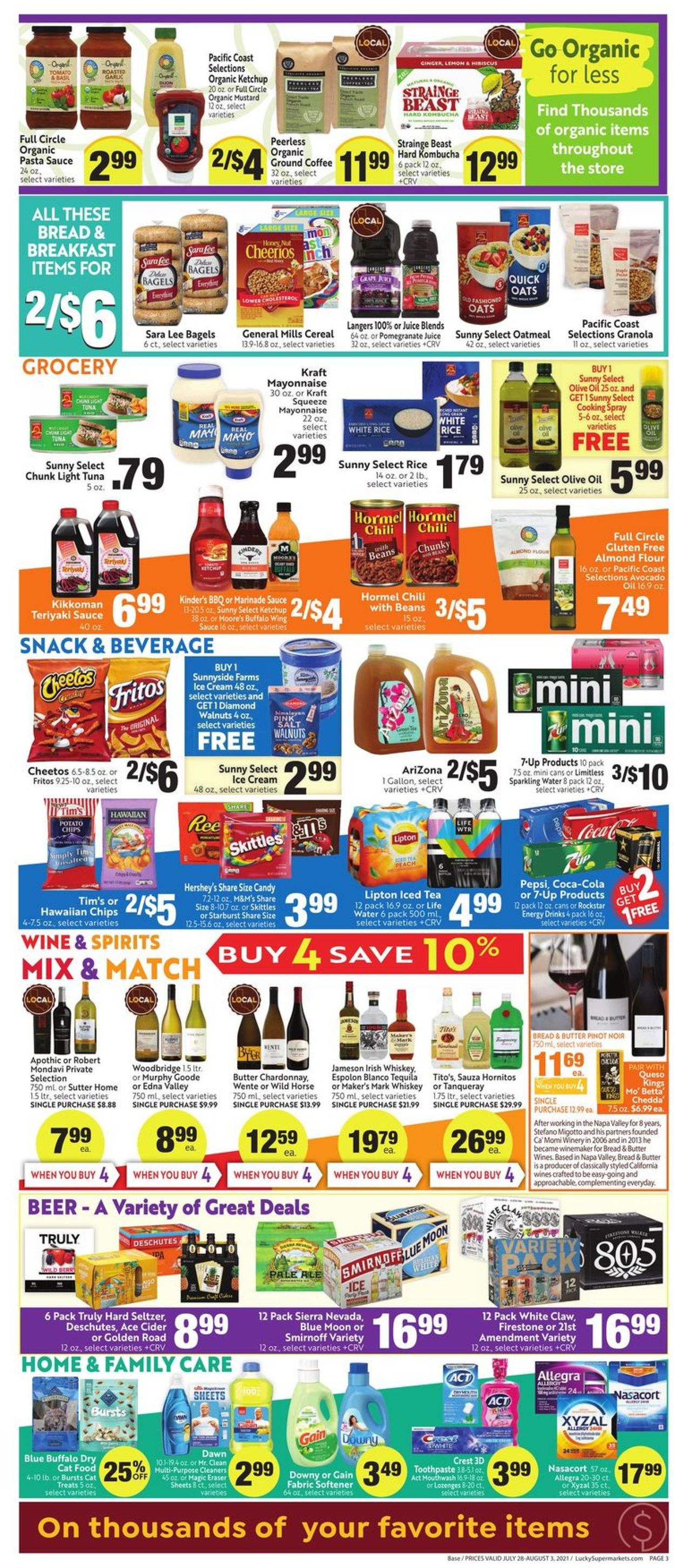 Lucky Supermarkets Weekly Ad Circular - valid 07/28-08/03/2021 (Page 3)