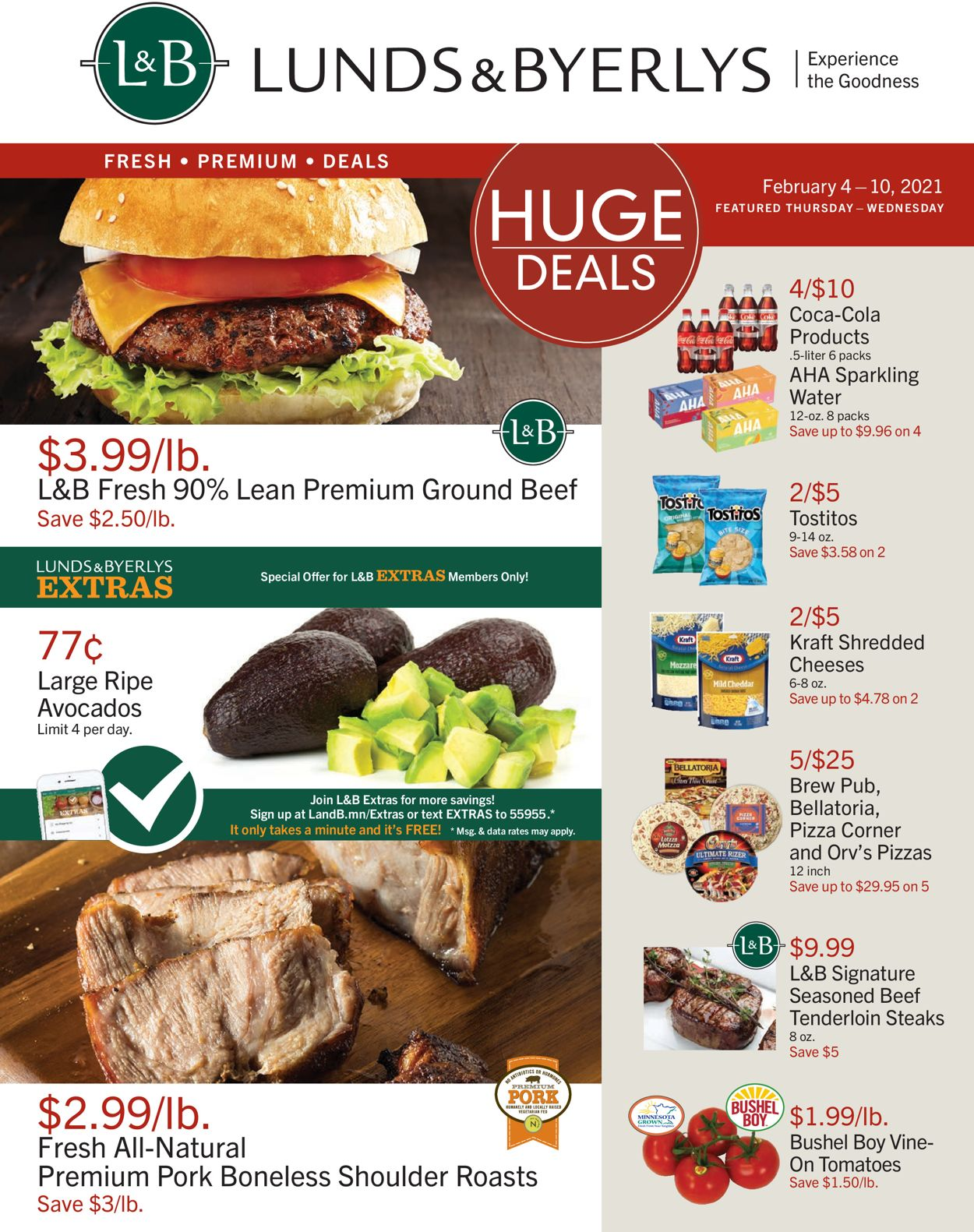 Lunds & Byerlys Weekly Ad Circular - valid 02/04-02/10/2021