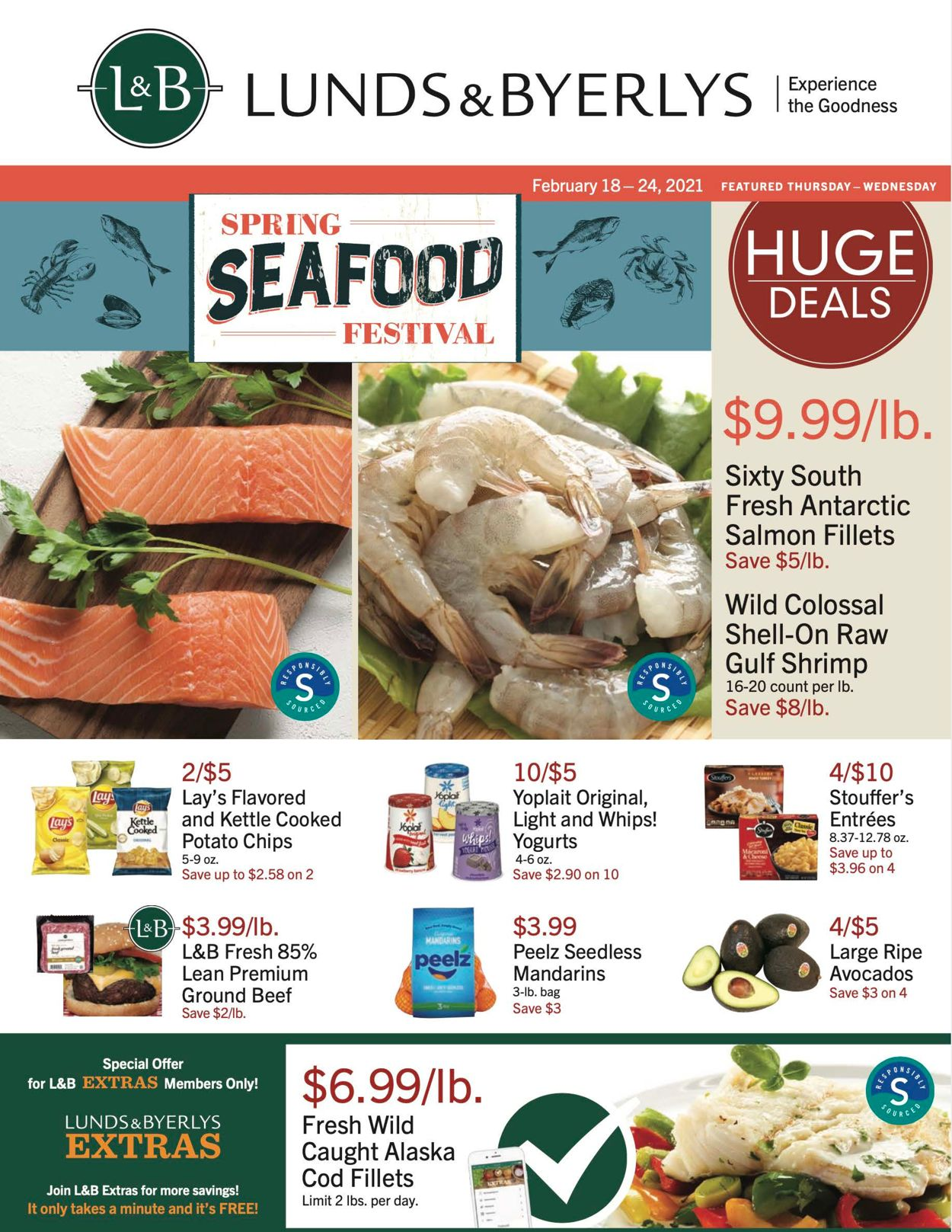 Lunds & Byerlys Weekly Ad Circular - valid 02/18-02/24/2021