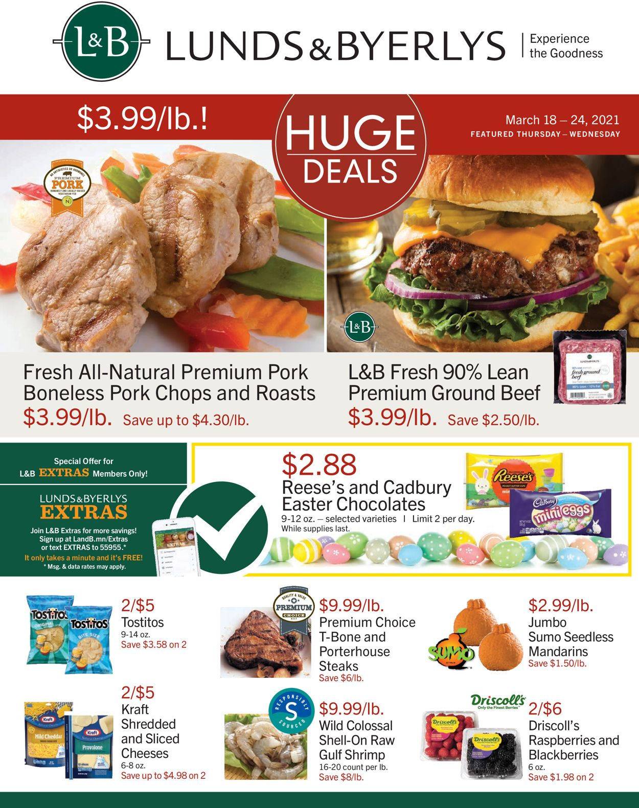 Lunds & Byerlys Weekly Ad Circular - valid 03/18-03/24/2021
