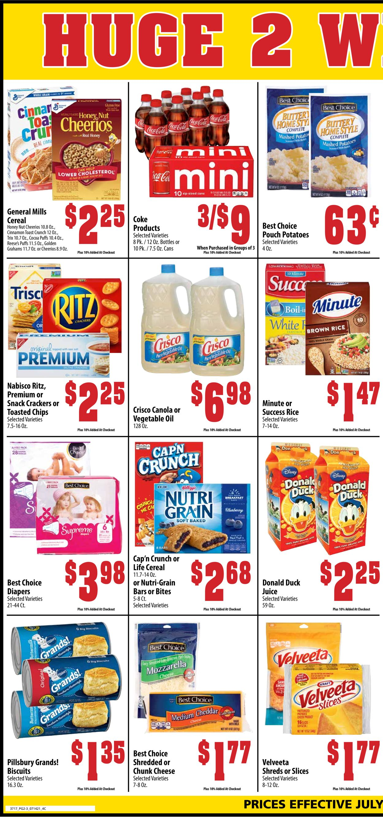 Mac's Freshmarket Weekly Ad Circular - valid 07/14-07/27/2021 (Page 2)