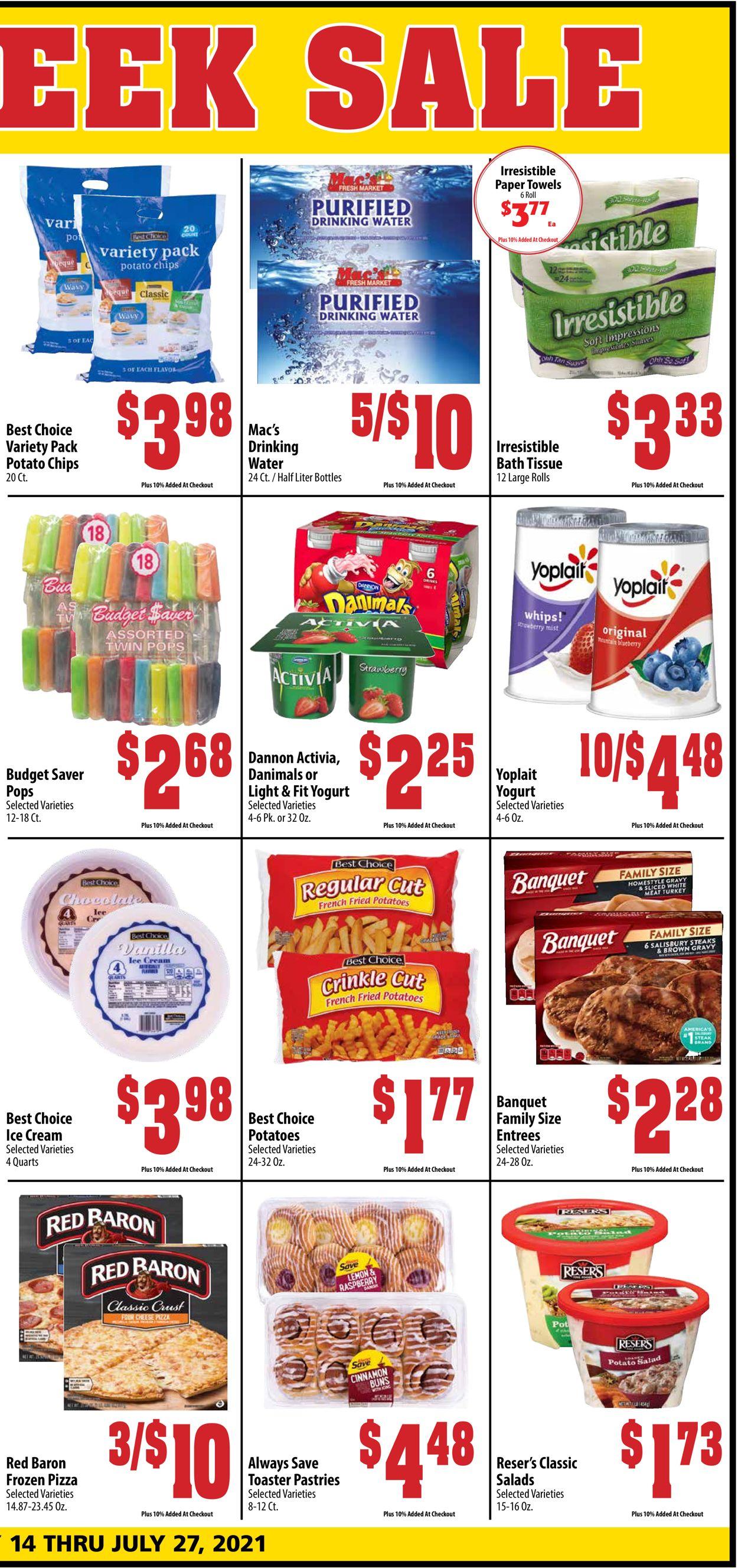 Mac's Freshmarket Weekly Ad Circular - valid 07/14-07/27/2021 (Page 3)