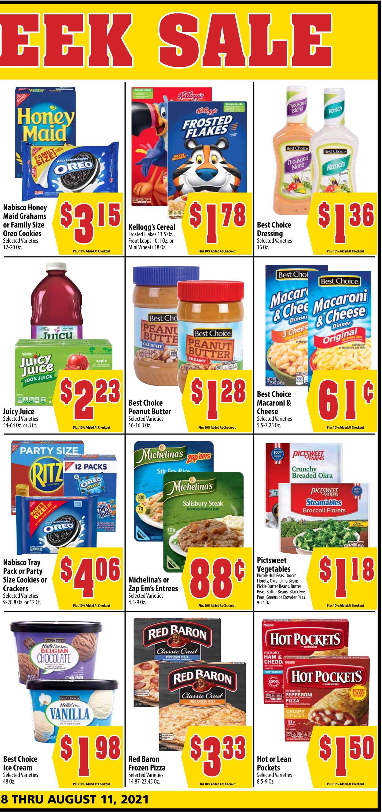 Mac's Freshmarket Weekly Ad Circular - valid 07/28-08/10/2021 (Page 3)