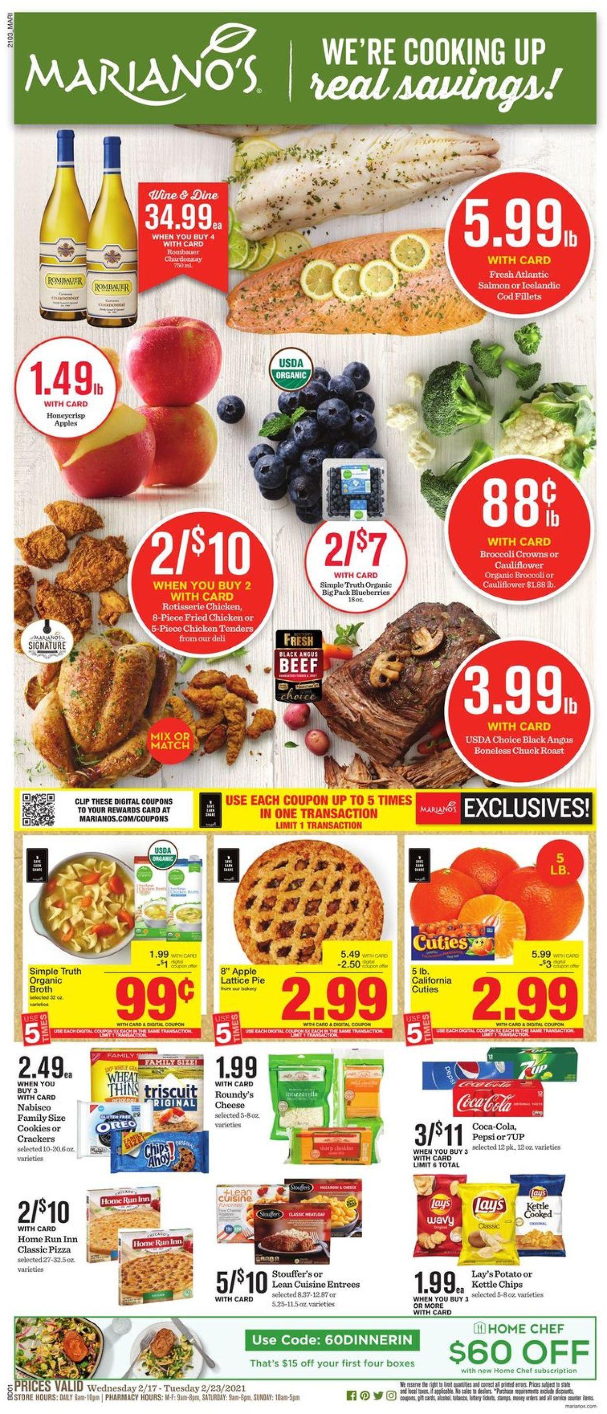 Mariano's Weekly Ad Circular - valid 02/17-02/23/2021