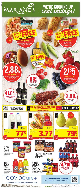 Mariano's Weekly Ad Circular - valid 04/07-04/13/2021