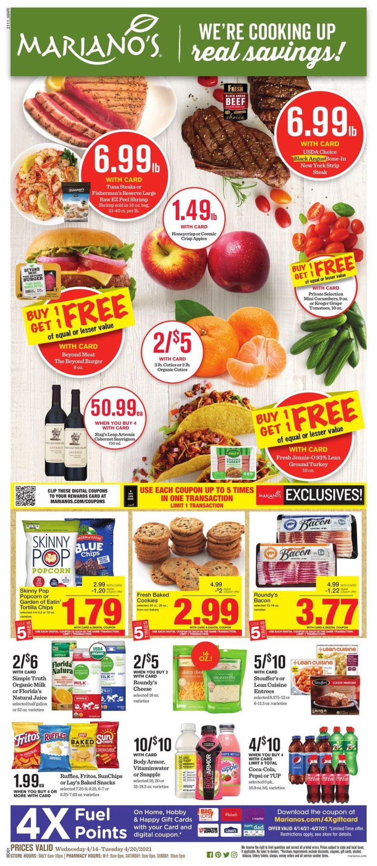 Mariano's Weekly Ad Circular - valid 04/14-04/20/2021