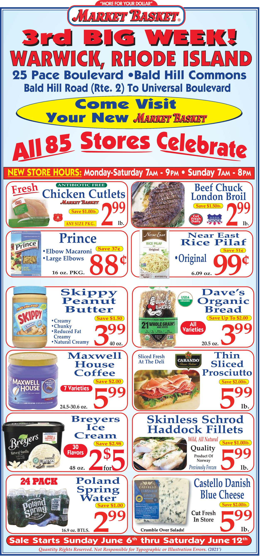 Market Basket Weekly Ad Circular - valid 06/06-06/12/2021