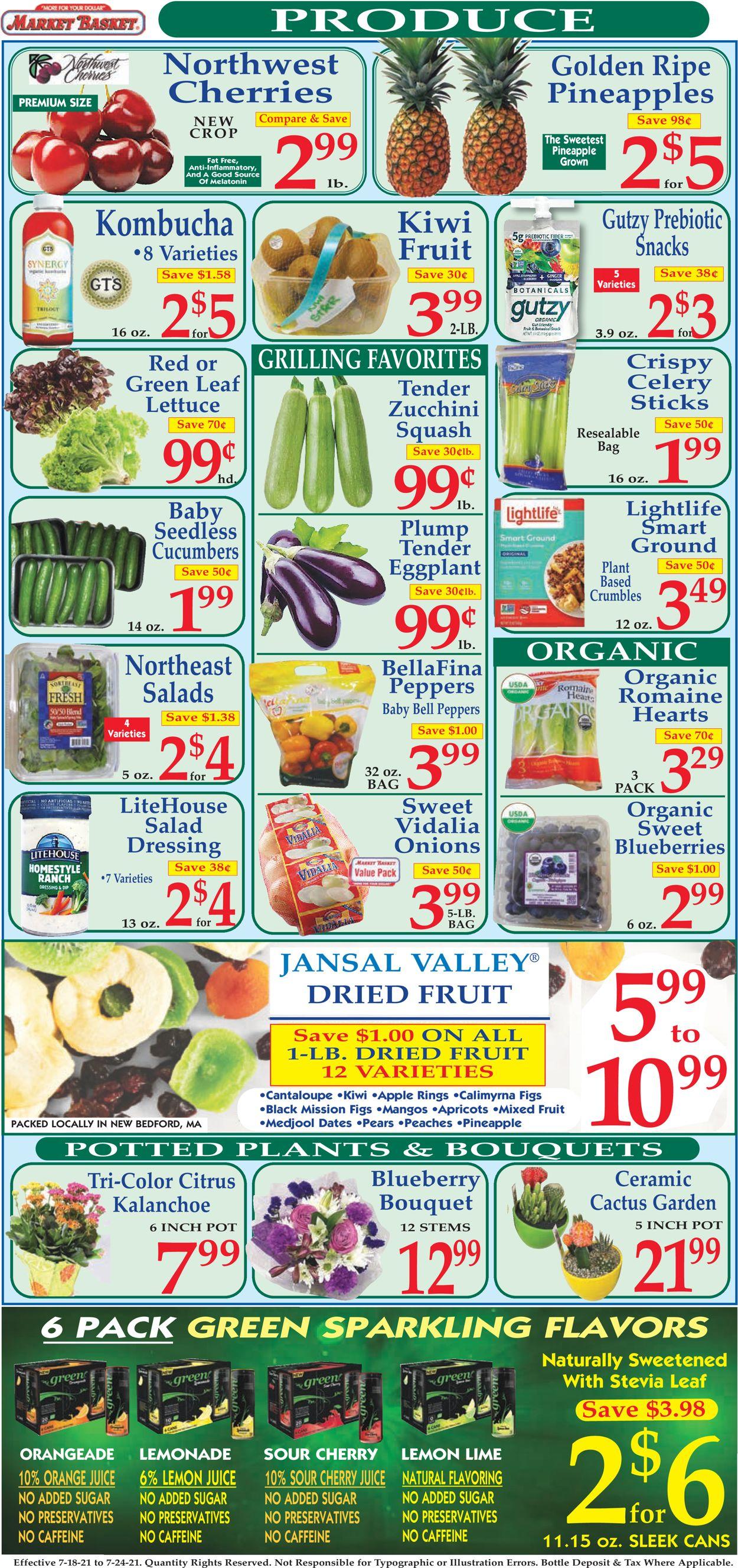 Market Basket Weekly Ad Circular - valid 07/18-07/24/2021 (Page 2)