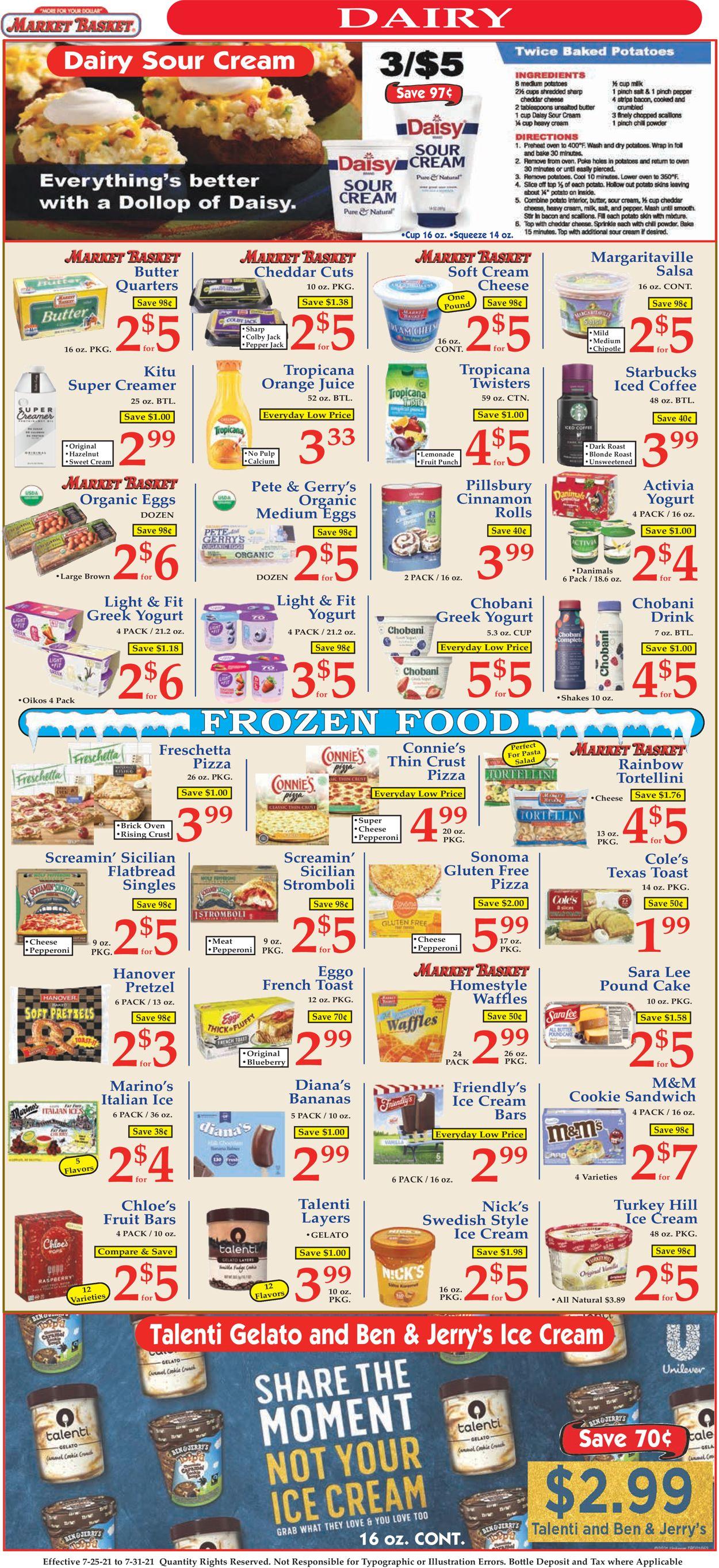 Market Basket Weekly Ad Circular - valid 07/25-07/31/2021 (Page 6)