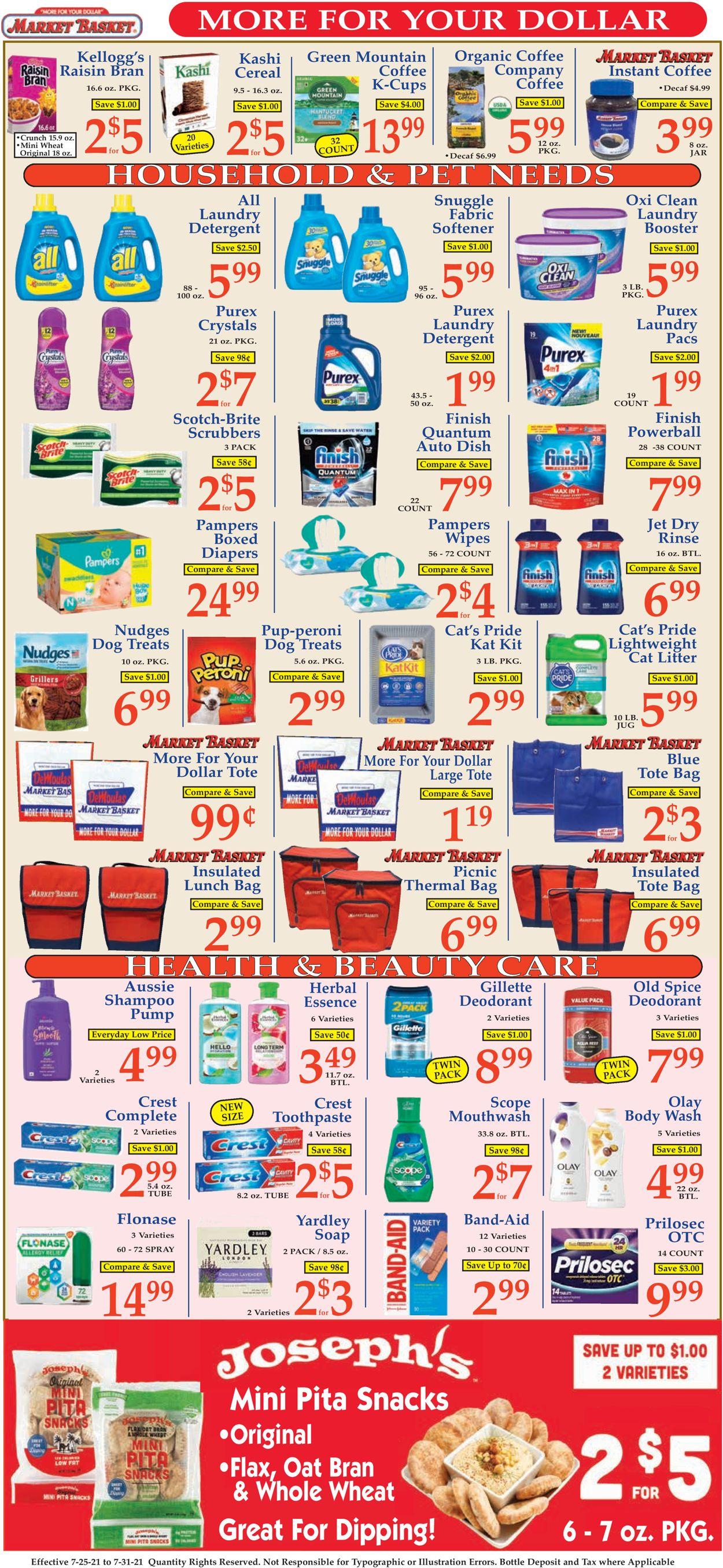 Market Basket Weekly Ad Circular - valid 07/25-07/31/2021 (Page 9)