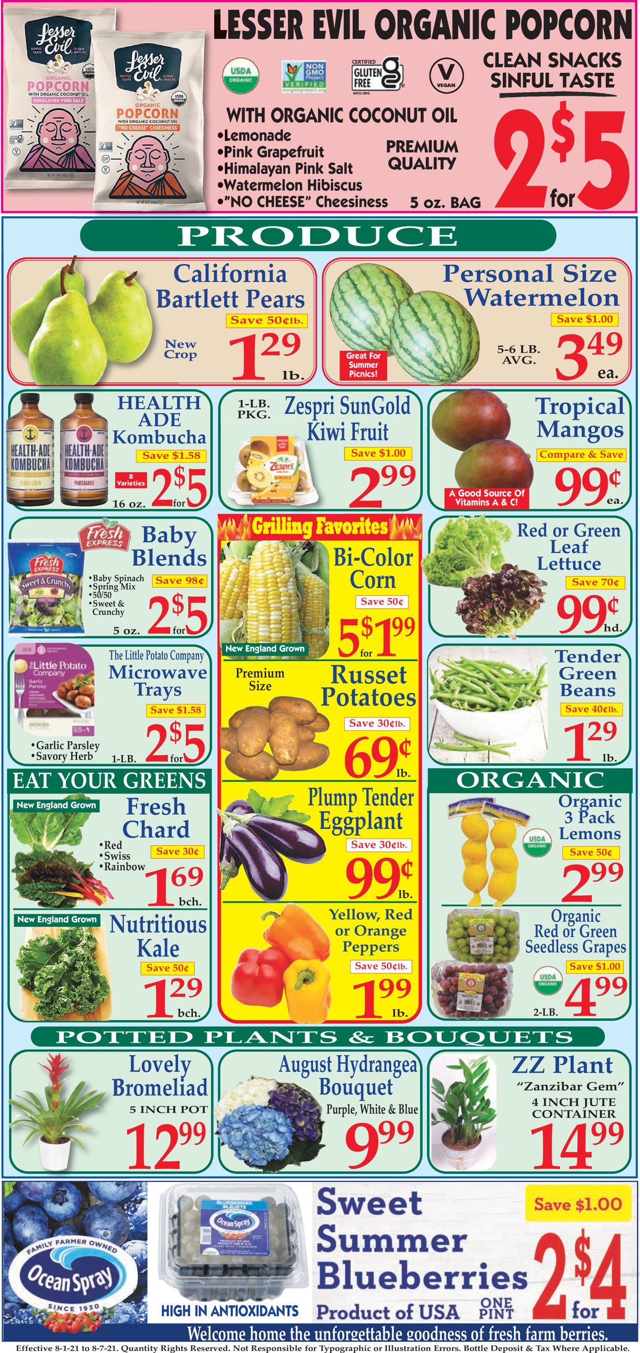 Market Basket Weekly Ad Circular - valid 08/01-08/07/2021 (Page 2)