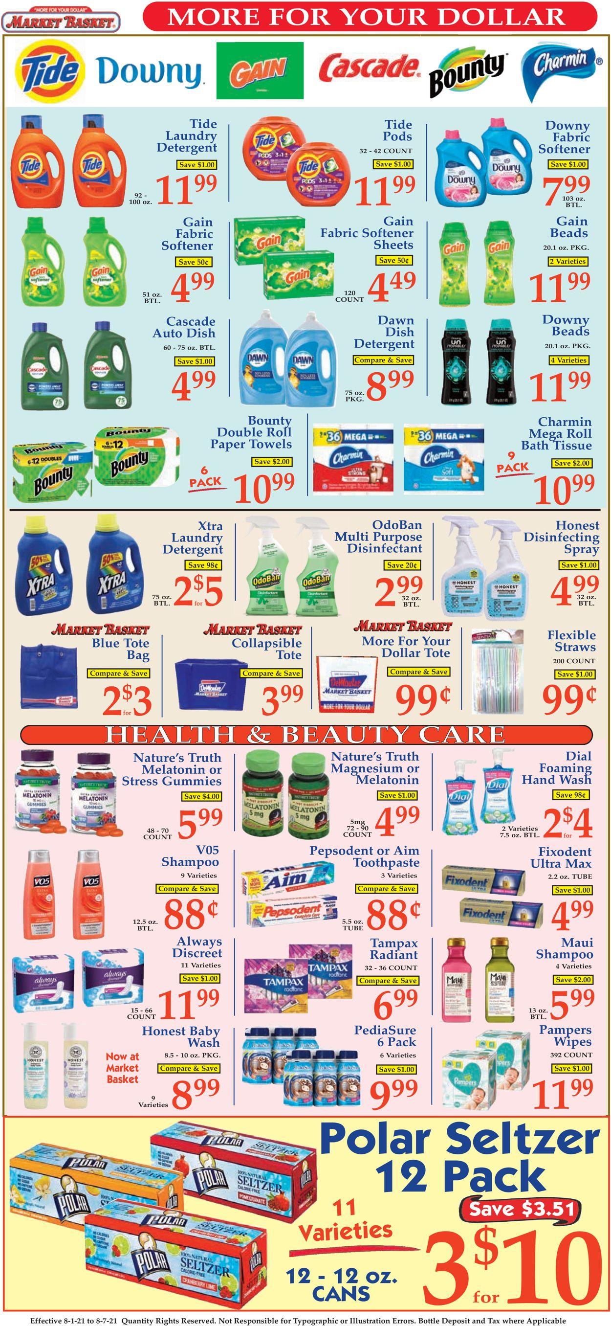 Market Basket Weekly Ad Circular - valid 08/01-08/07/2021 (Page 9)