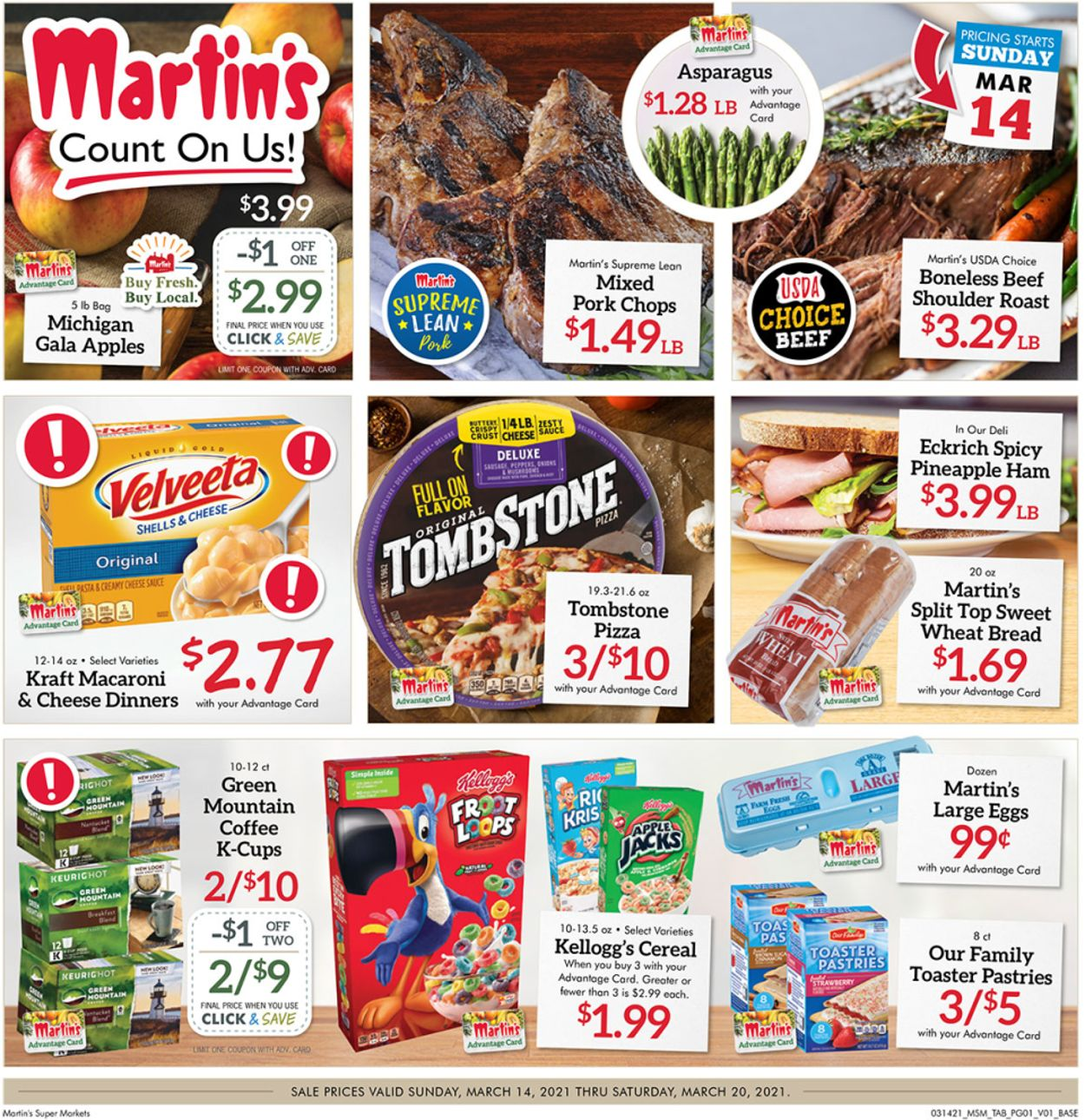 Martin's Weekly Ad Circular - valid 03/14-03/20/2021