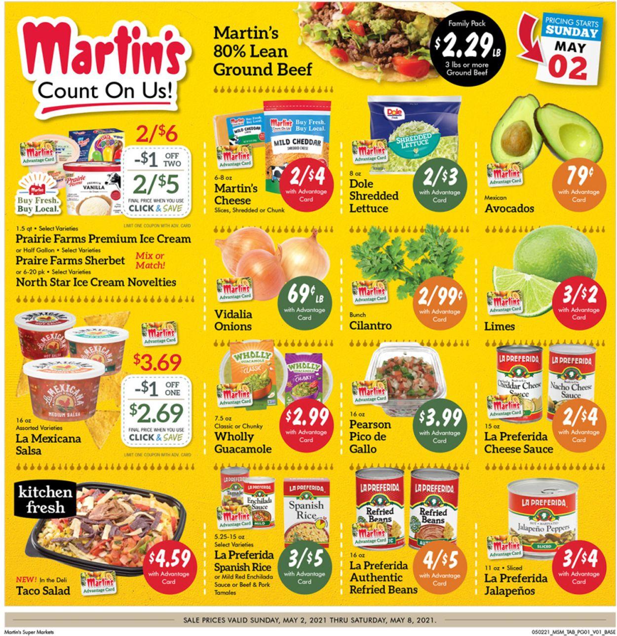Martin's Weekly Ad Circular - valid 05/02-05/08/2021