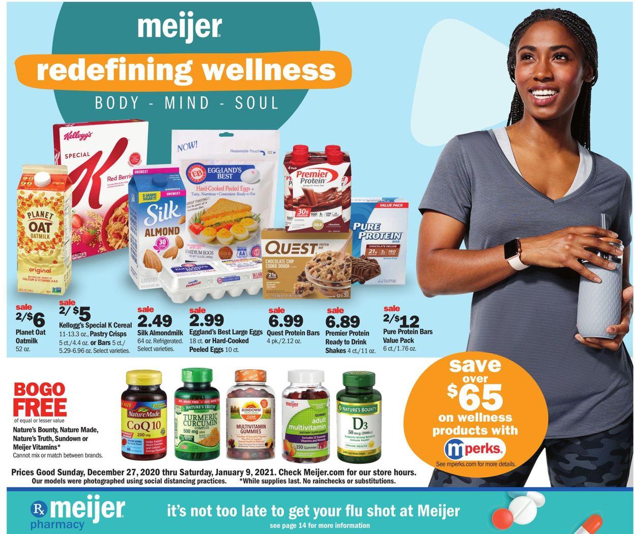 Meijer Weekly Ad Circular - valid 12/27-01/09/2021