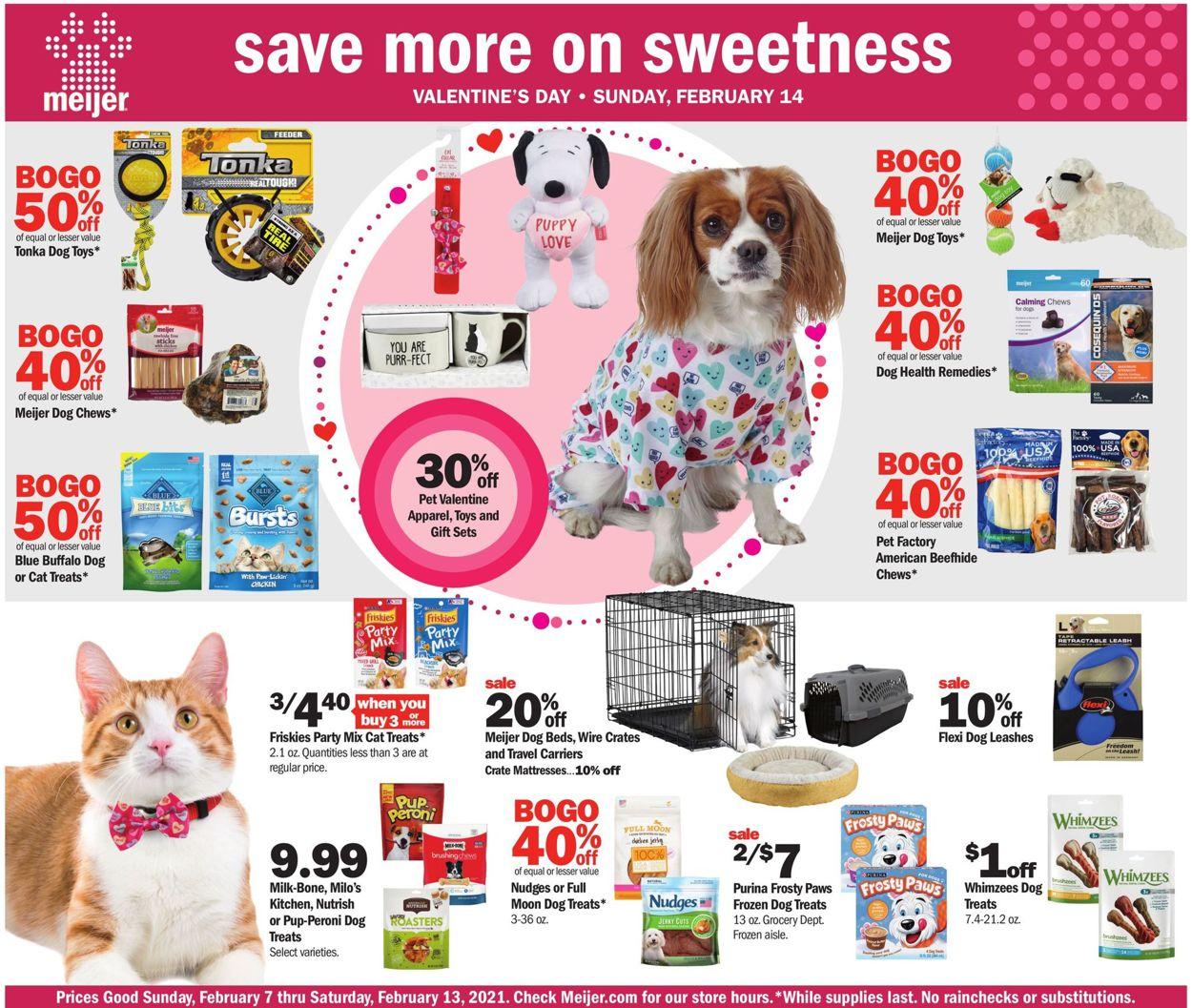 Meijer Weekly Ad Circular - valid 02/07-02/13/2021