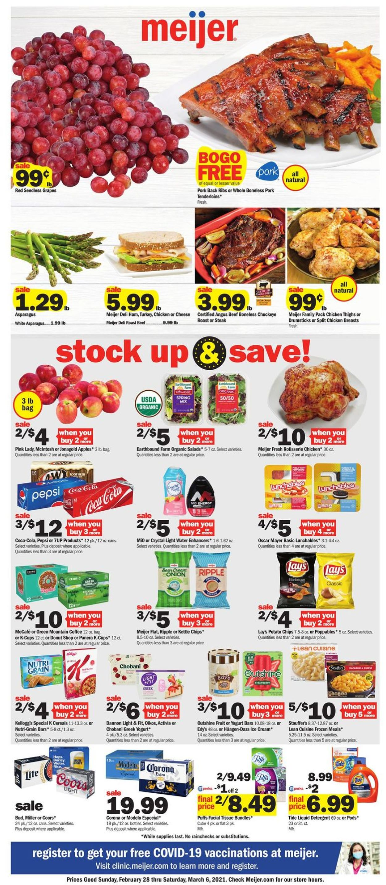 Meijer Weekly Ad Circular - valid 02/28-03/06/2021