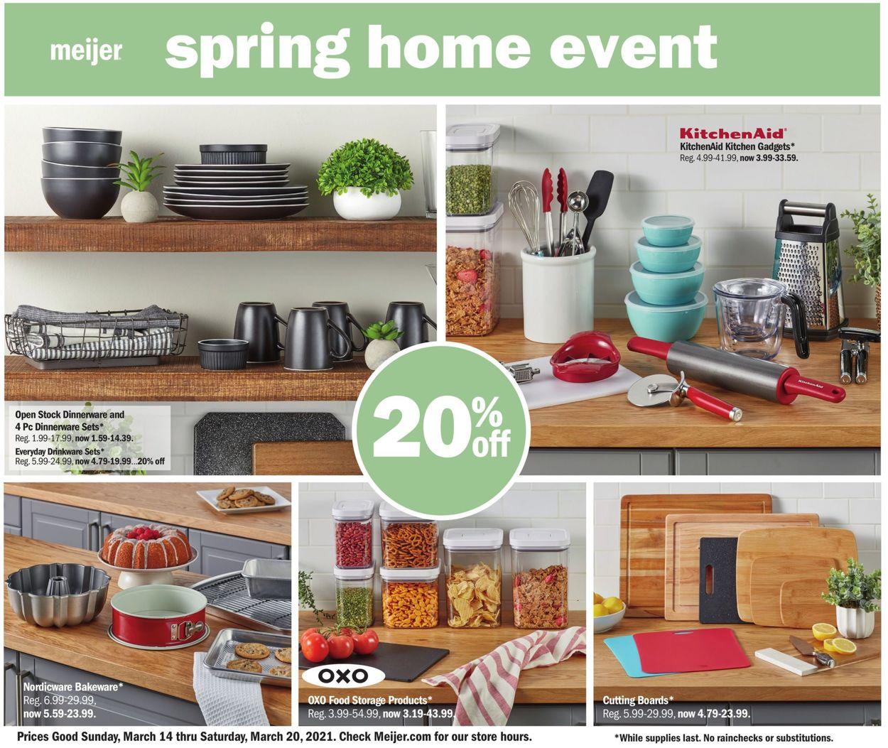 Meijer Weekly Ad Circular - valid 03/14-03/20/2021