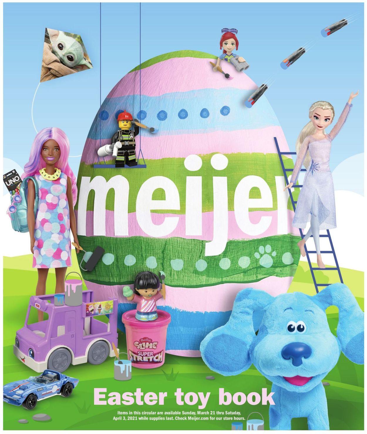 Meijer - Easter 2021 Ad Weekly Ad Circular - valid 03/21-04/03/2021