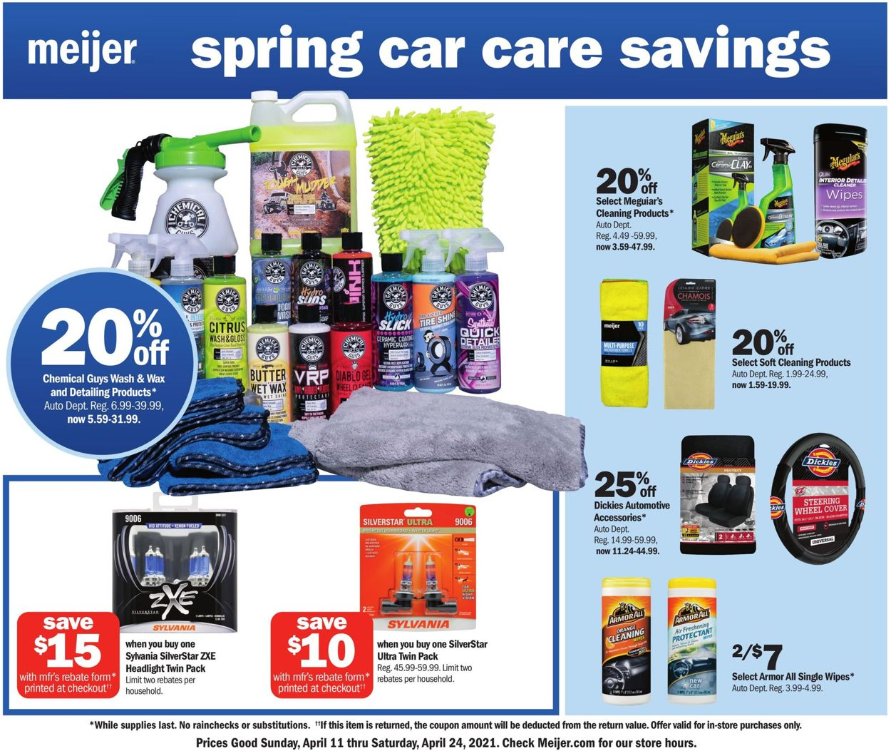 Meijer Weekly Ad Circular - valid 04/11-04/24/2021