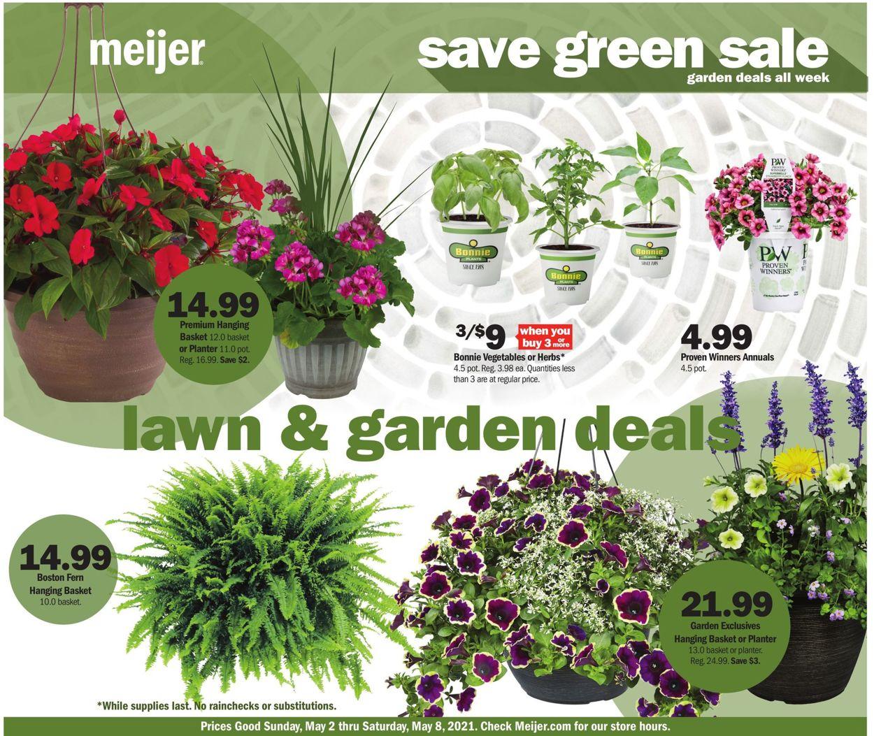 Meijer Weekly Ad Circular - valid 05/02-05/08/2021