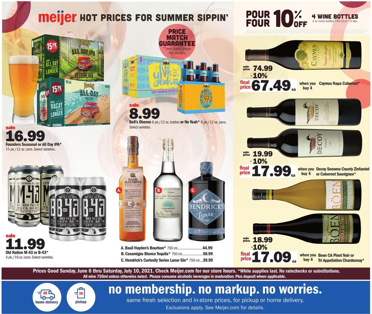Meijer Weekly Ad Circular - valid 06/06-07/10/2021