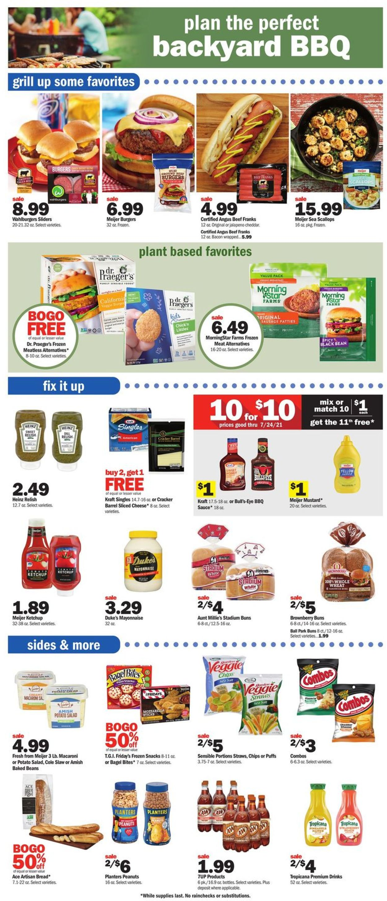 Meijer Weekly Ad Circular - valid 07/18-07/24/2021 (Page 9)