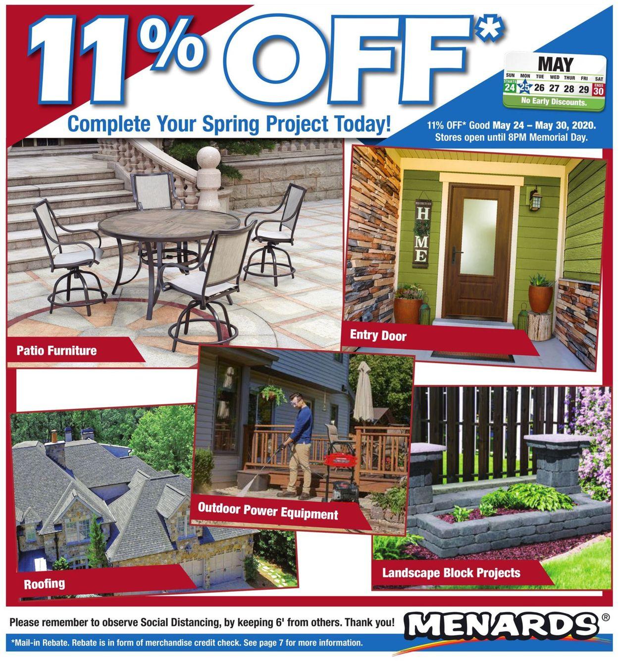 Menards Weekly Ad Circular - valid 05/24-05/30/2020