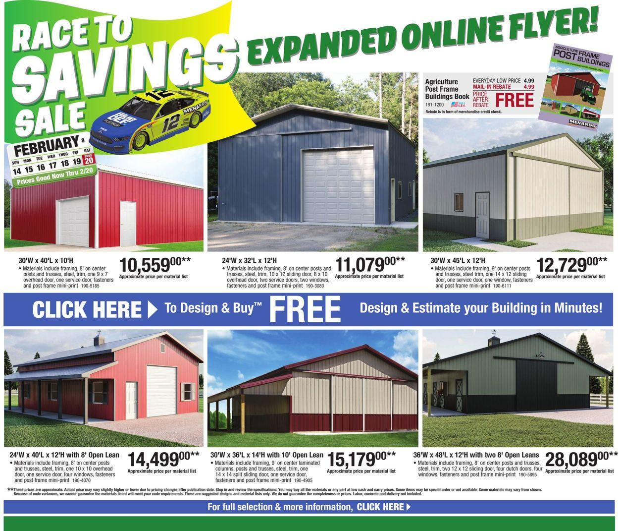 Menards Weekly Ad Circular - valid 02/14-02/20/2021