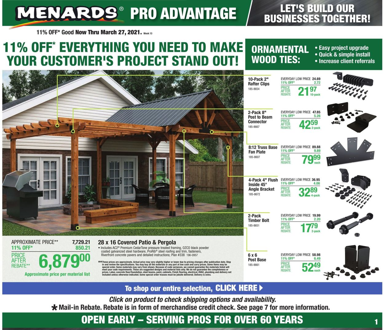 Menards Weekly Ad Circular - valid 03/21-03/27/2021