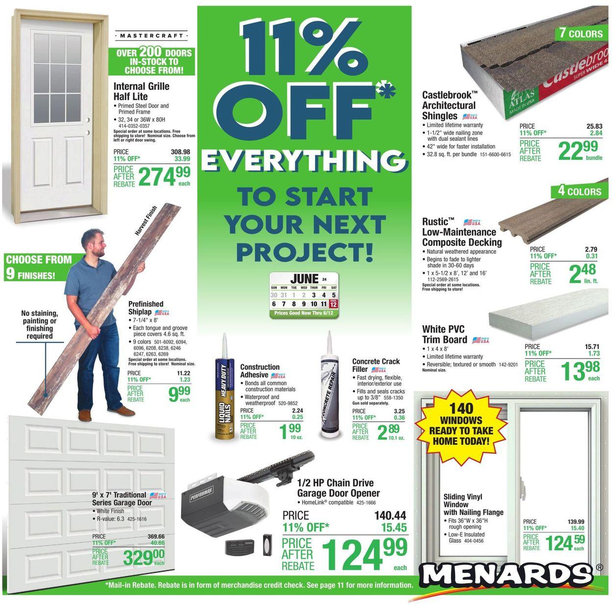 Menards Weekly Ad Circular - valid 06/02-06/12/2021