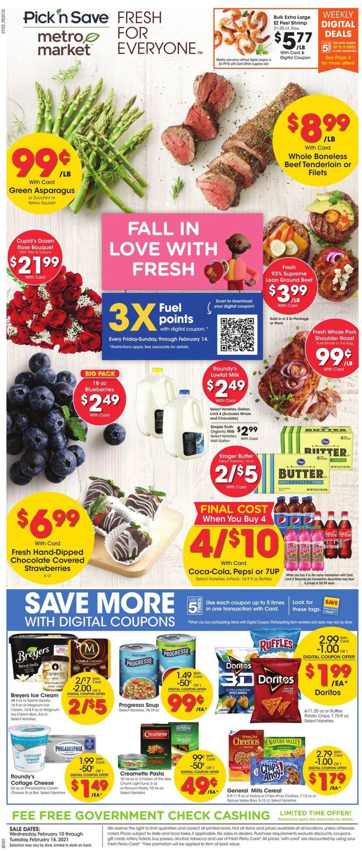 Metro Market Weekly Ad Circular - valid 02/10-02/16/2021