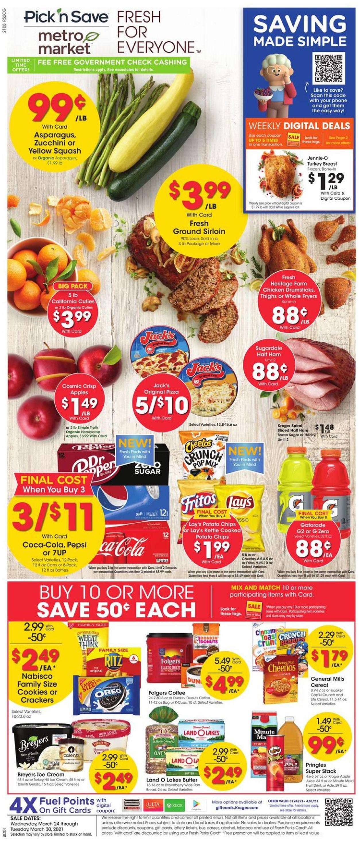 Metro Market Weekly Ad Circular - valid 03/24-03/30/2021