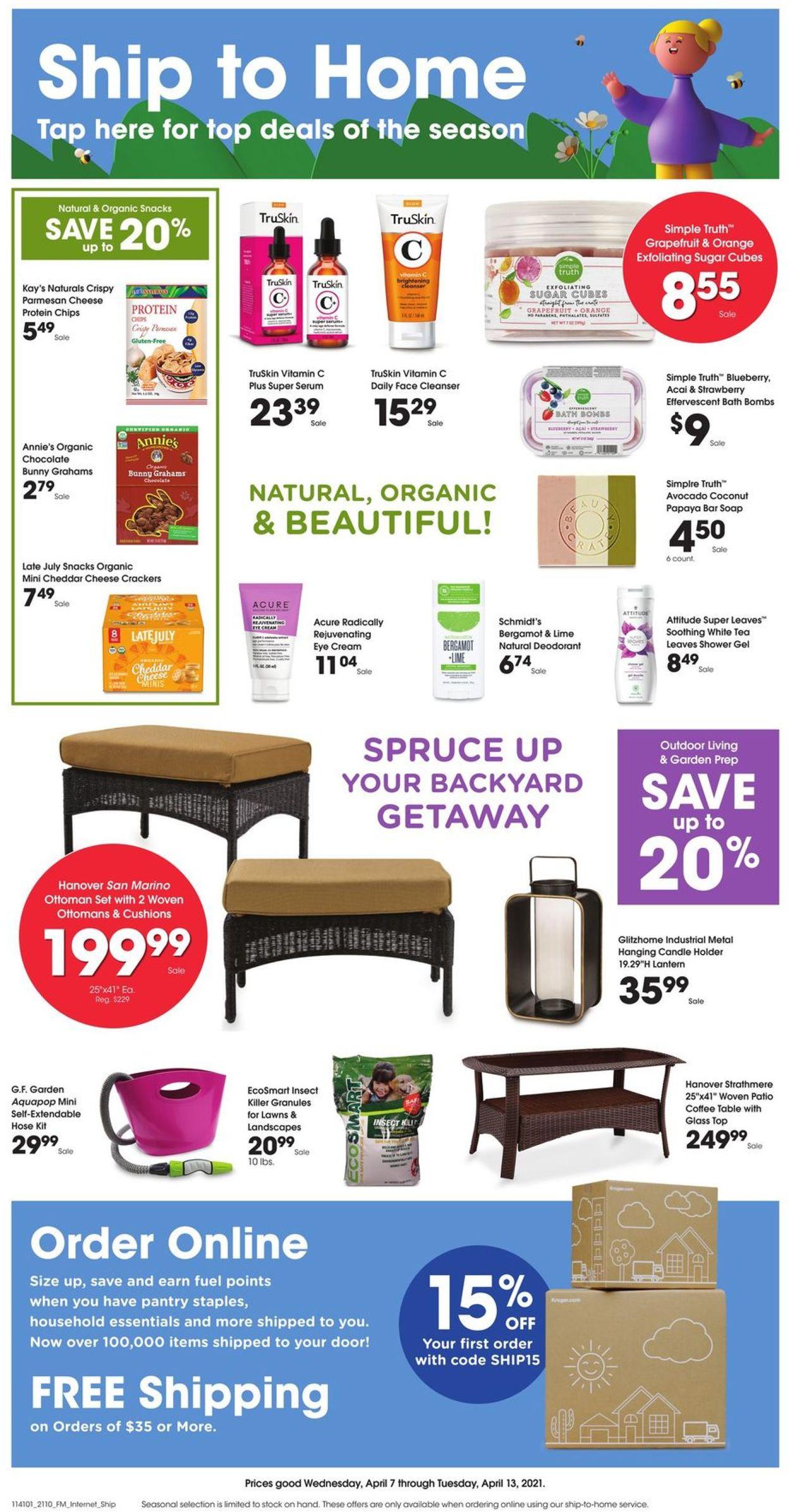 Metro Market Weekly Ad Circular - valid 04/07-04/13/2021