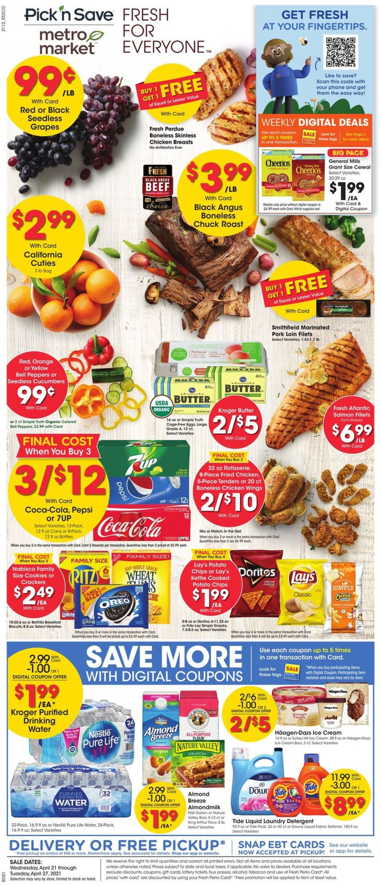 Metro Market Weekly Ad Circular - valid 04/21-04/27/2021