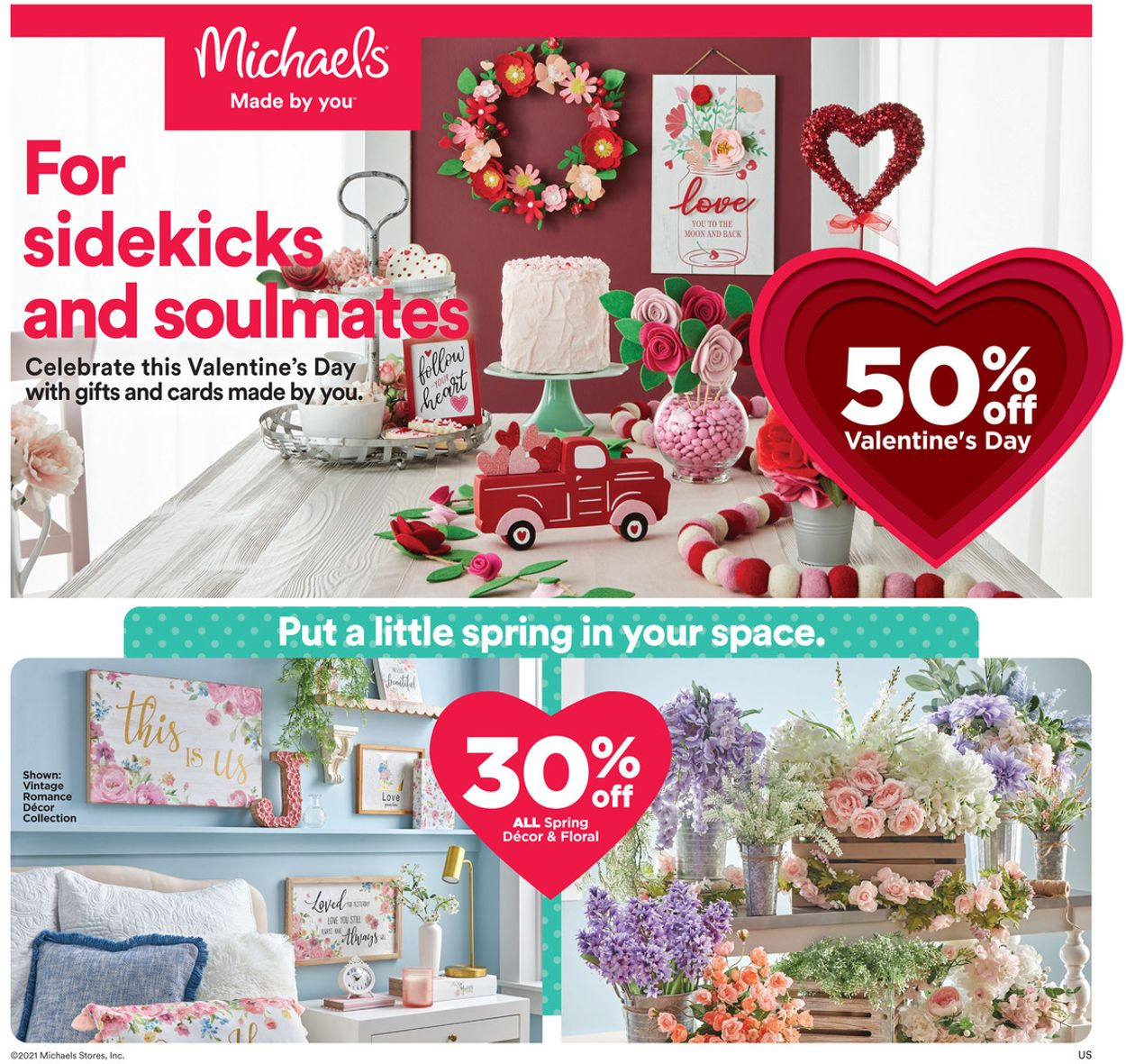 Michaels Weekly Ad Circular - valid 02/07-02/13/2021