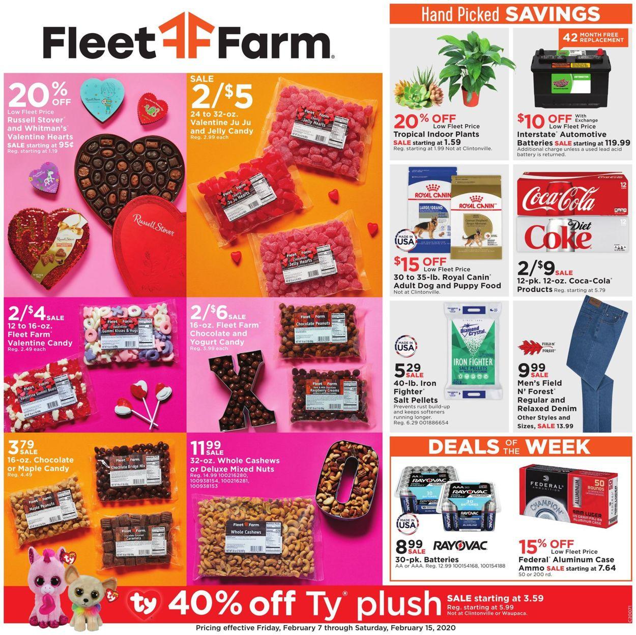 Mills Fleet Farm Weekly Ad Circular - valid 02/07-02/15/2020